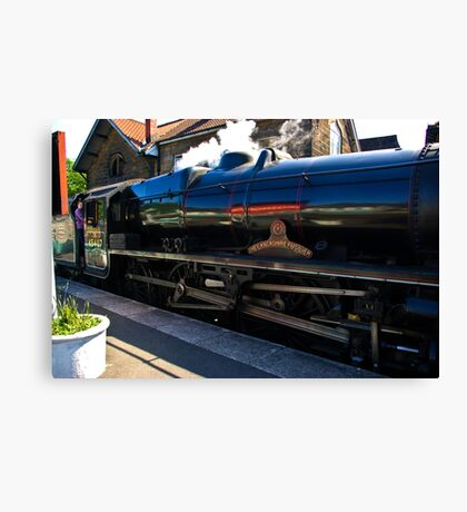 Steam at Grosmont Canvas Print