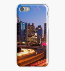 Atlanta Skyline at Night iPhone Case/Skin