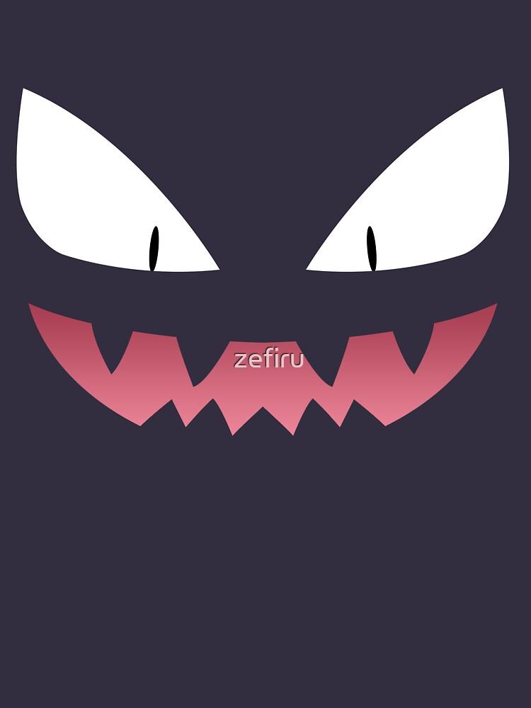Pokemon - Haunter / Ghost by zefiru
