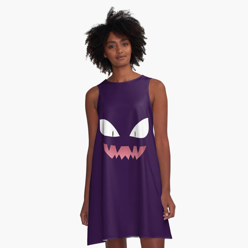 Pokemon - Haunter / Fantasma Vestido acampanado