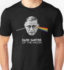 The Dark Sartre Of The Moon Unisex T-Shirt