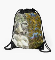 Beauty Is In the Eye of the Beholder Drawstring Bag