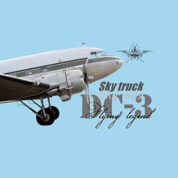 DC-3 by sibosssr