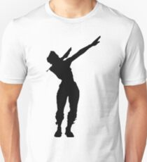 Tupfen Emote Tanz Slim Fit T-Shirt
