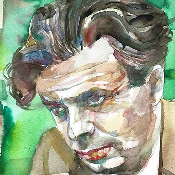 ALDOUS HUXLEY - watercolor portrait.4 by lautir