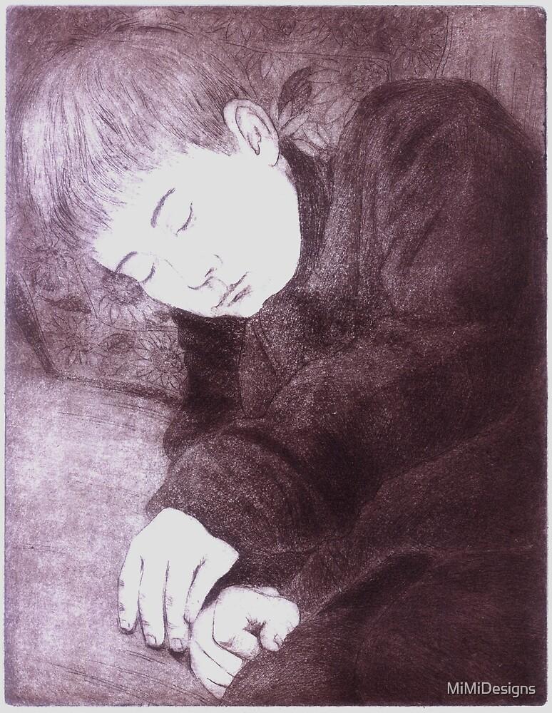 Sleeping Boy Mountain by MiMiDesigns