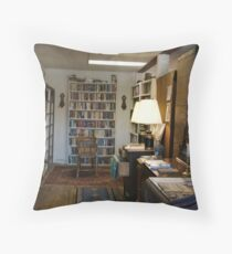 Used Books For Sale Throw Pillow