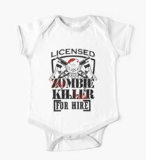Zombie Killing Halloween Killer For Hire Axe Knife Light One Piece - Short Sleeve