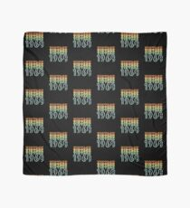 50th Birthday Retro Design - Vintage 1968 Scarf