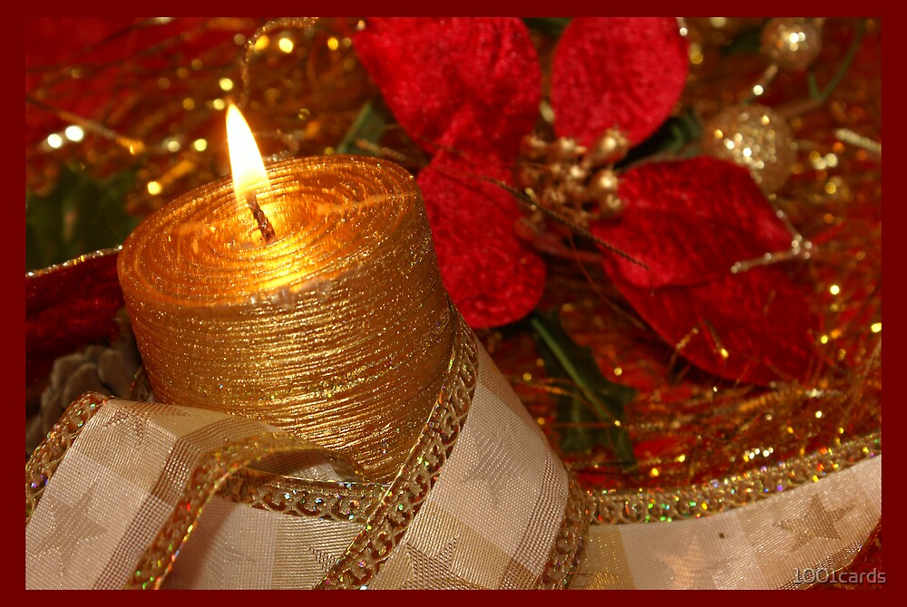 Christmas candle light 03 by 1001cards