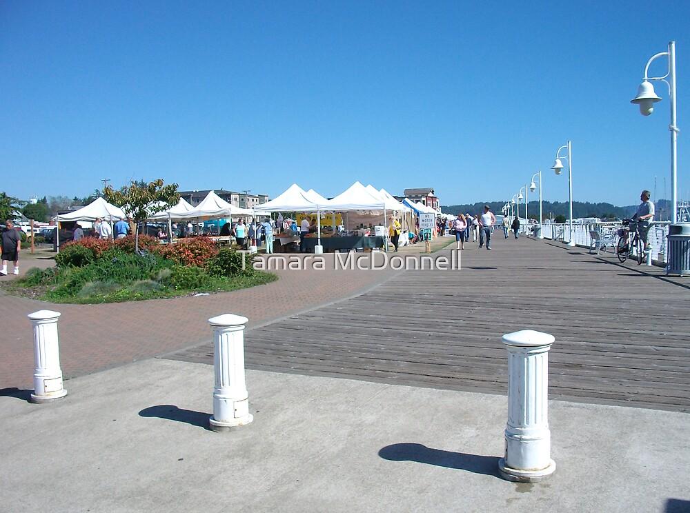 Market on The Boardwalk Florence, Oregon by Tamara Lindsey