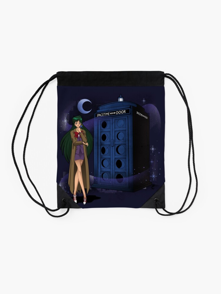 Alternate view of Sailor Time Lord Drawstring Bag