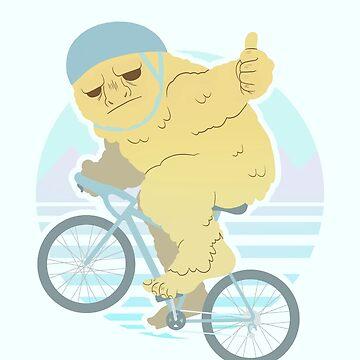 Biking Yeti by art-shy