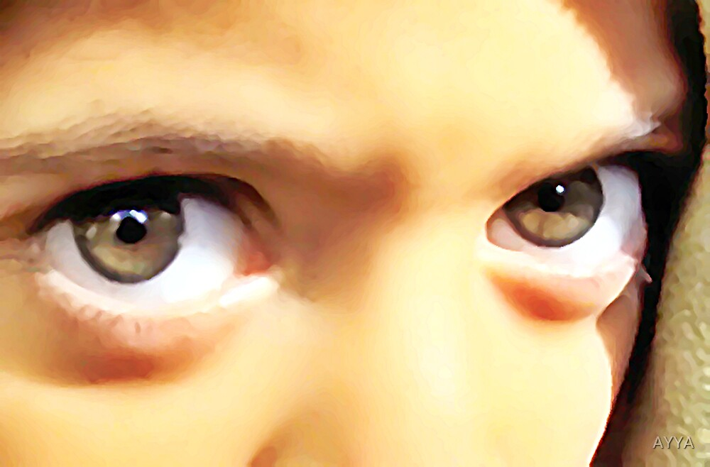 the power of eyes by AYYA