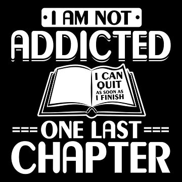 Book Addiction One More Chapter by ThreadsNouveau