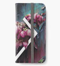 DUNKLE ORCHID 1 iPhone Flip-Case/Hülle/Skin