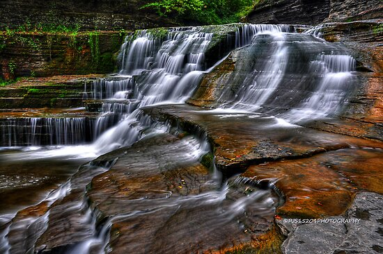 Ithaca's Treman Falls IV HDR by PJS15204