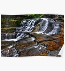 Ithaca's Treman Falls IV HDR Poster