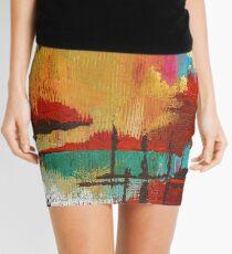 Fire in the Sky Mini Skirt