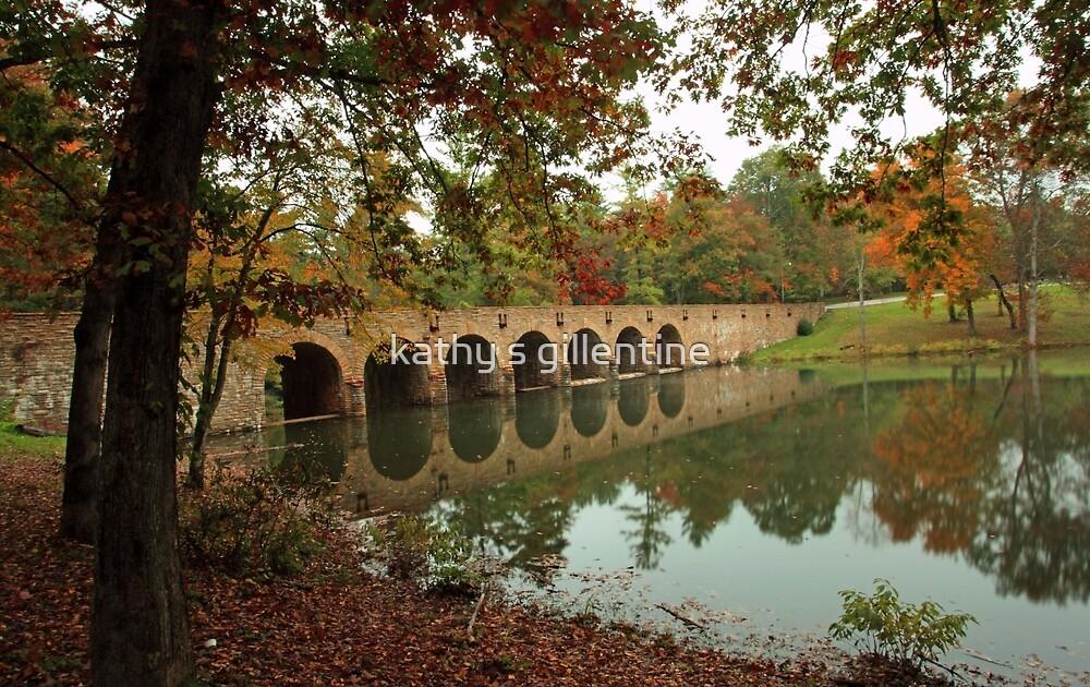 Cumberland Mountain State Park Bridge  by kathy s gillentine