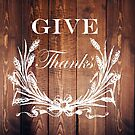 western country barnwood wheat bouquet wreath give thanks by lfang77