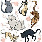 « Les chats » par Tirmes