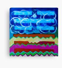Hexagram 63: Jí Jì (Equilibrium) Canvas Print
