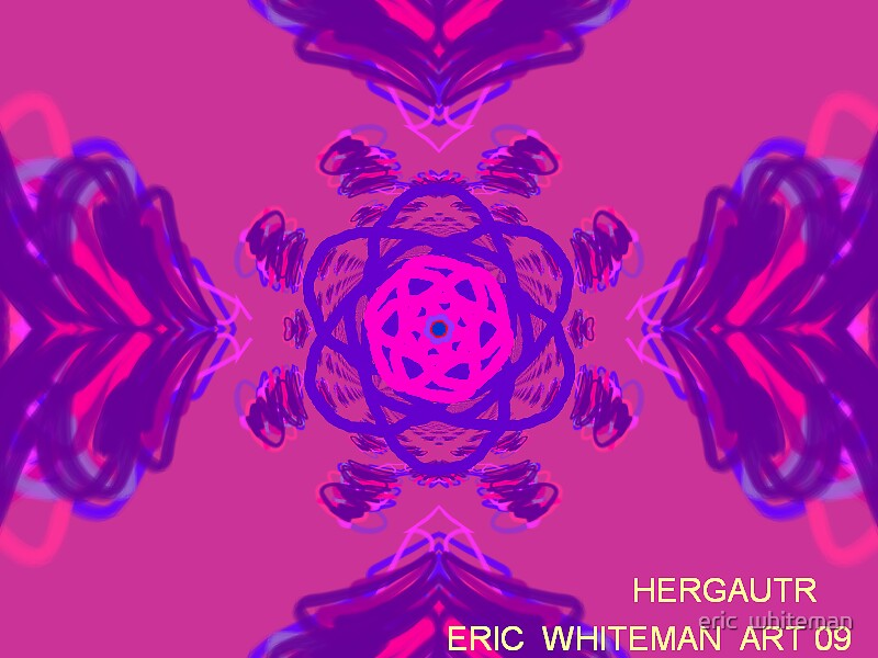 ( HENGAUTER ) ERIC WHITEMAN  ART, by eric  whiteman
