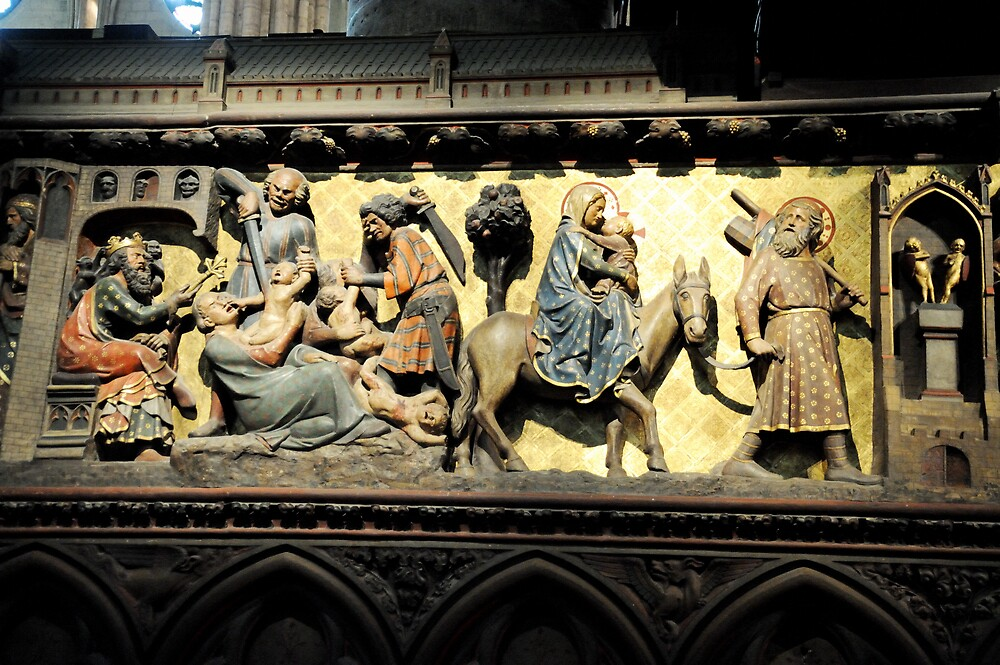 Altar panel Notre Dame by Tony Dempsey