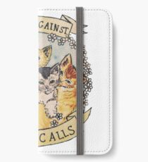 cats calls iPhone Wallet/Case/Skin