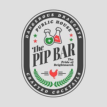 Pip (dark) Paladins Champion Logo by dcmjs