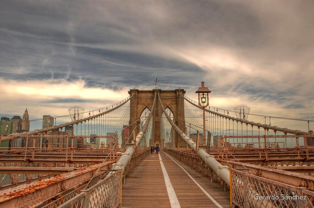 Brooklyn Bridge  by Gerardo Sánchez