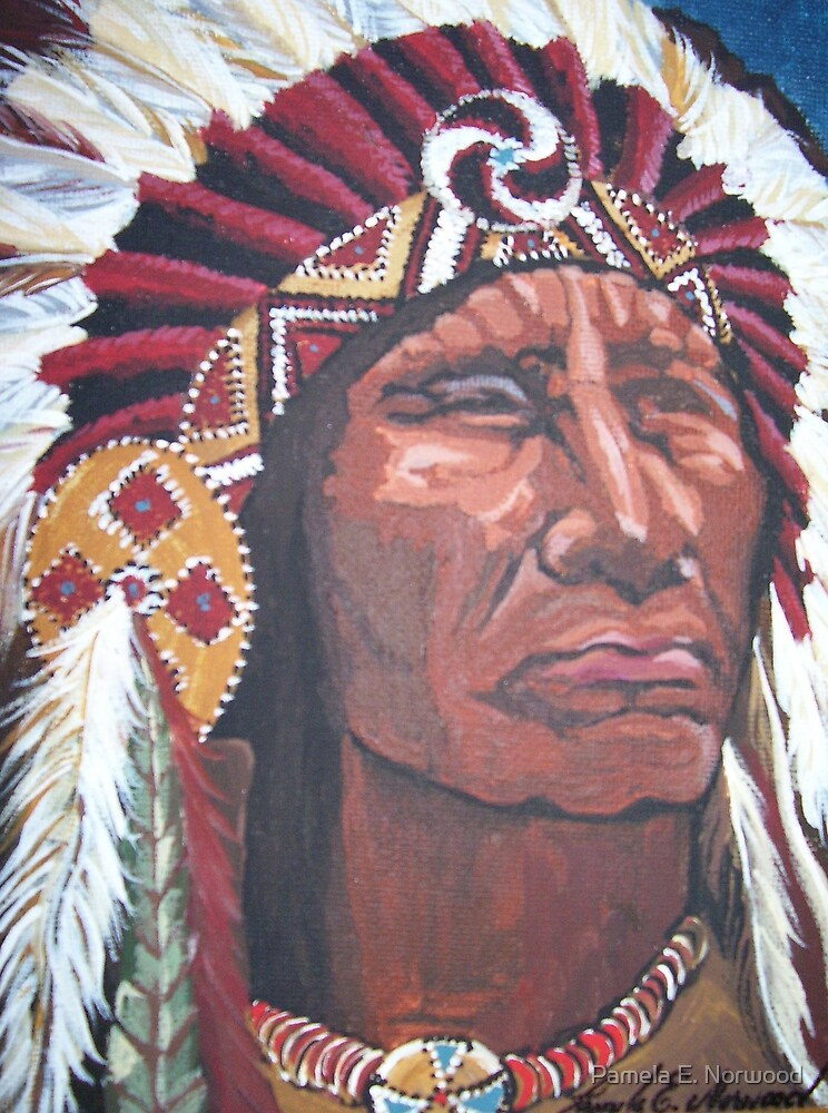 Indian Chief by Pamela E. Norwood