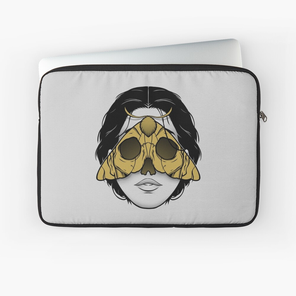 Bad Omen Laptop Sleeve