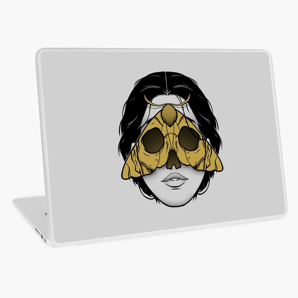 Bad Omen Laptop Skin