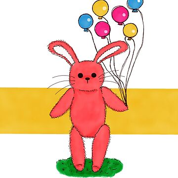 Balloon Bunny by emastrations
