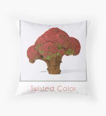 Autumn broccoli Throw Pillow