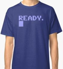 Commdore C64 Ready Classic T-Shirt
