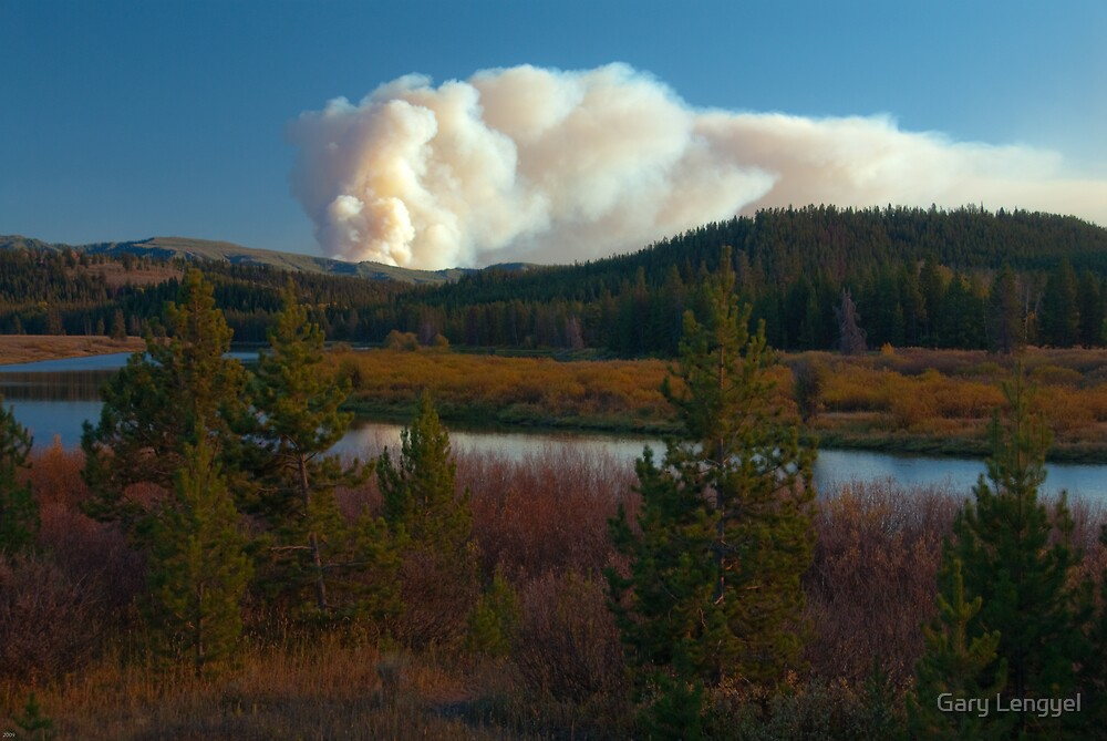 Teton Fire by Gary Lengyel
