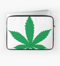 Weed cannabis leaf Laptop Sleeve