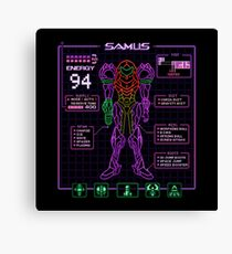 Sammy Stats Canvas Print