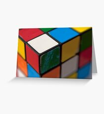 Rubik Greeting Card