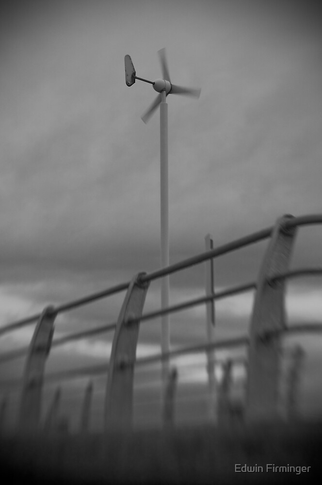 Stormy Turbine by Edwin Firminger