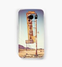 Motel Sign on the Route 66 Samsung Galaxy Case/Skin