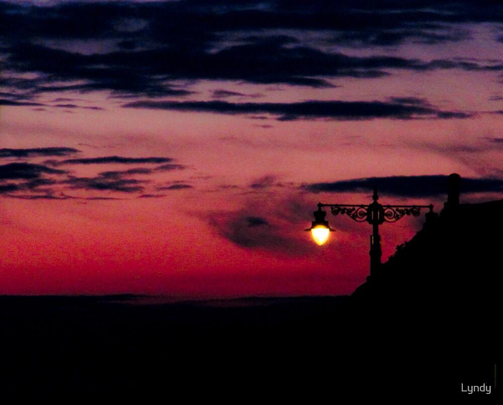 Red Sky at Night by Lyndy