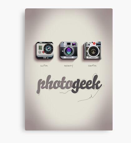 Photogeek Canvas Print