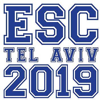 ESC Tel Aviv 2019 by lazarusheart