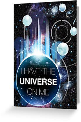 I've got the universe on me by hazelong