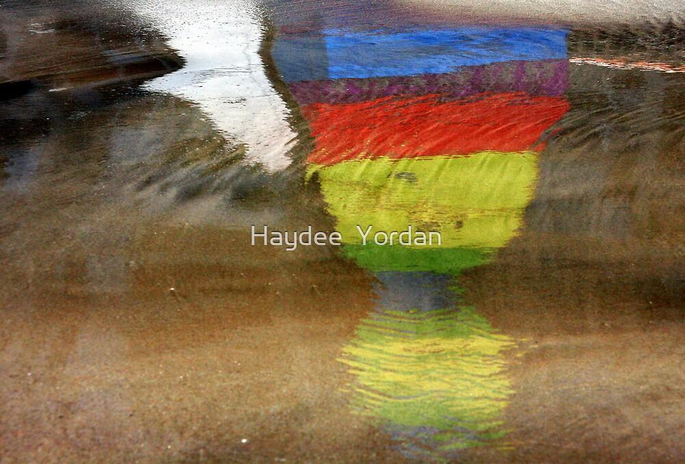 Floating Colors Abstract by Haydee  Yordan