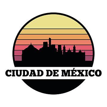 Cuidad de México skyline by SvenHorn
